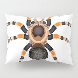 Red Knee Tarantula Pillow Sham