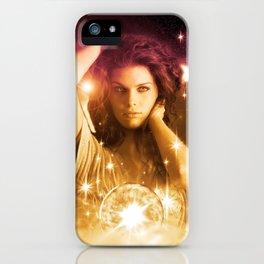 Cosmic Hot Girl iPhone Case
