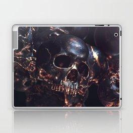 Black Gold Skull Laptop & iPad Skin