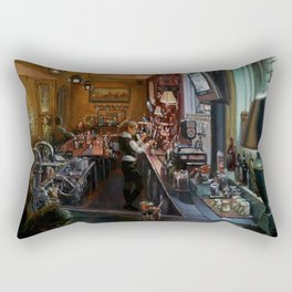 In the Wee Small Hours Rectangular Pillow