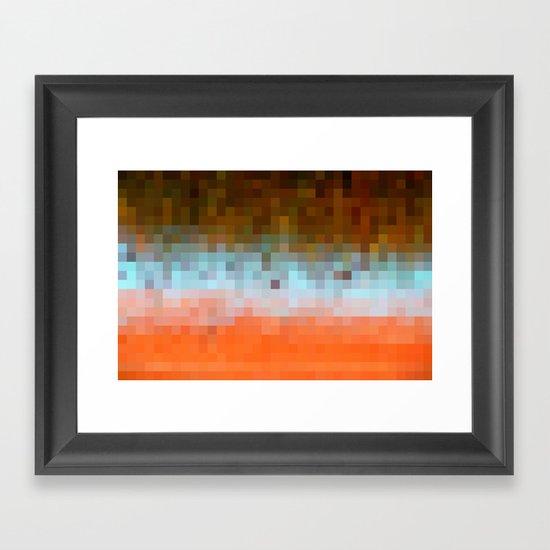 Nature Pixels No1 Framed Art Print