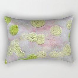 Green dots Rectangular Pillow