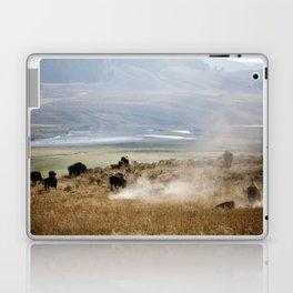 WHERE THE BUFFALO ROAM Laptop & iPad Skin