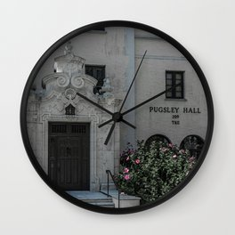 Puglsey Hall Rollins College TKE Winter Park Central Florida Orlando Wall Clock