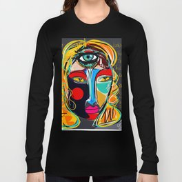 Looking for the third eye street art graffiti Long Sleeve T-shirt