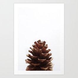 Minimalist, Pine Cone Art Print