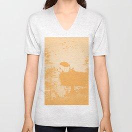 Stork Unisex V-Neck