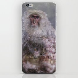 Snow Monkey Dreams iPhone Skin