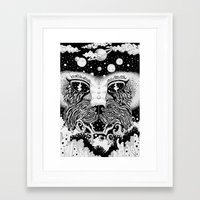 universe Framed Art Prints featuring UNIVERSE by • PASXALY •