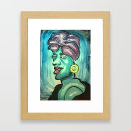 African Witch Framed Art Print