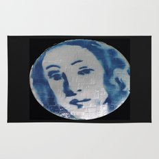 VENUSIAN FACE IN CREDIT CARDS  Rug