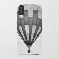 hot air balloon iPhone & iPod Cases featuring Hot Air Balloon by Rose Etiennette