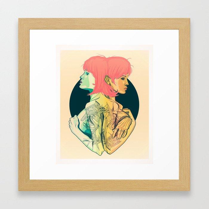 Haters Framed Art Print