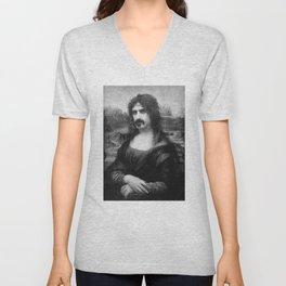 Mona Zappa Unisex V-Neck