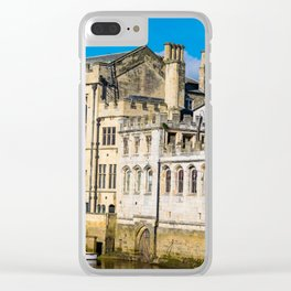 York City Guildhall in the spring sunshine. Clear iPhone Case