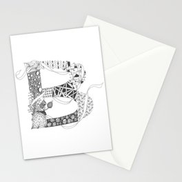 "Zenletter ""B"" Stationery Cards"