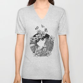 BLOOMING Unisex V-Neck