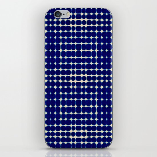 Deelder Blue iPhone & iPod Skin