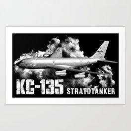 KC-135 Stratotanker Art Print