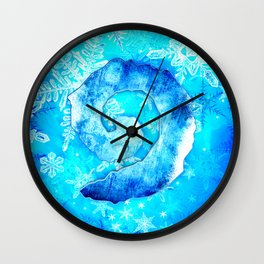 Heartstone tapestry 2 Wall Clock