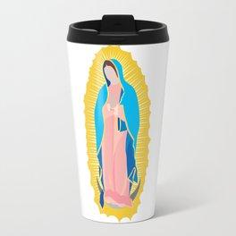 virgen de guadalupe Travel Mug