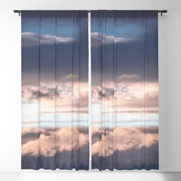 Sunset Sky Abstract Blackout Curtain