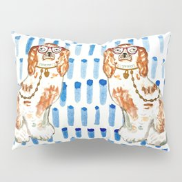 REDHEAD IN GLASSES - right facing Pillow Sham