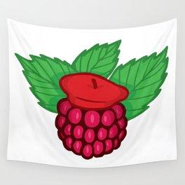 Raspberry Beret Wall Tapestry