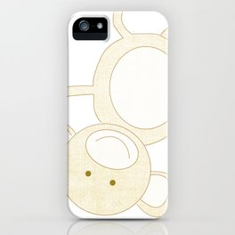 Monkey Jungle Series Print iPhone Case