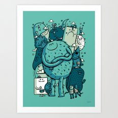Group Photo Art Print