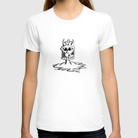 cartoon T-shirts featuring Cartoon Meltdown by yahtz designs
