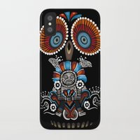 mexican iPhone & iPod Cases featuring Mexican Owl by Msimioni
