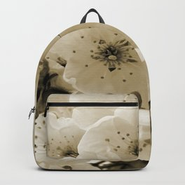 Cherry Blossoms Monochrome Backpack