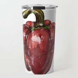 Red Bell Pepper Travel Mug