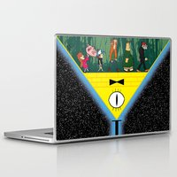 gravity falls Laptop & iPad Skins featuring Gravity Falls by itspronouncedDEE-ANN-UH