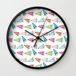 CHEER - color splash Wall Clock