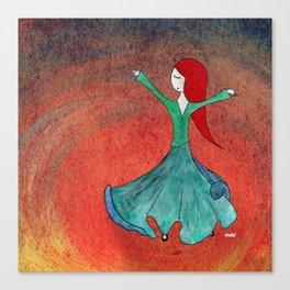 Sufi Canvas Print