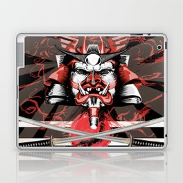 Samurai Flag Laptop & iPad Skin
