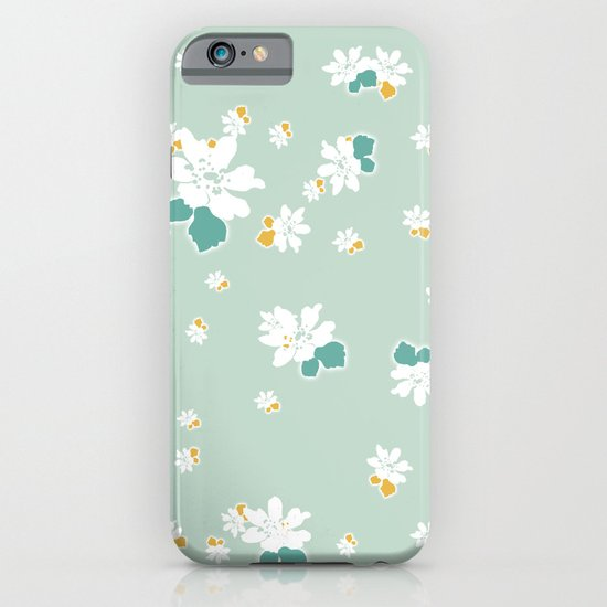 Ditsy - Eggshell iPhone & iPod Case
