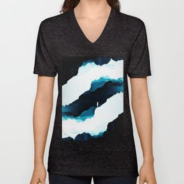 Teal Isolation Unisex V-Neck