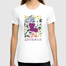 Louisiana + Florals T-shirt