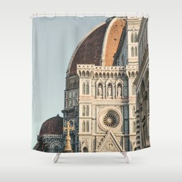 Il Duomo in Florencia | Italy | Europe Travel Photography Shower Curtain