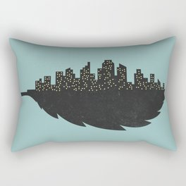 Leaf City Rectangular Pillow