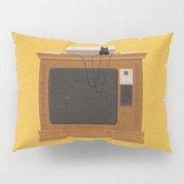 Retro TV and Console Pillow Sham