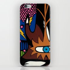and the MAGIC BERRIES PLAYED RIGHT into FOX'S HANDS iPhone & iPod Skin