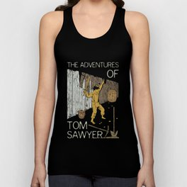 Books Collection: Tom Sawyer Unisex Tank Top
