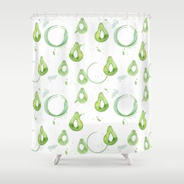 Avocado2 Shower Curtain