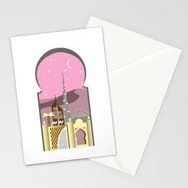 Pink Dubai Stationery Cards