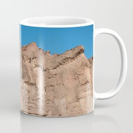 the solomons pillars in timna national park in israel near Eilat Coffee Mug