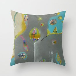 Bee Sassy Throw Pillow